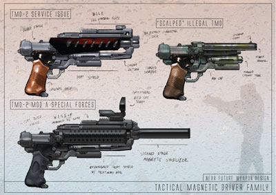 TMD Weapon Design