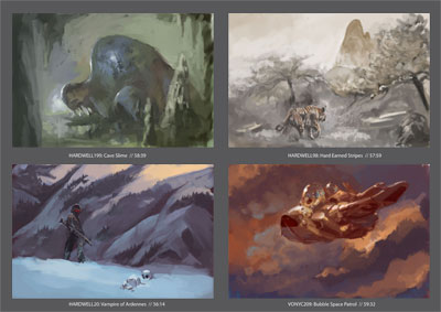 Speed Paints